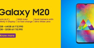 Harga Hp Samsung M20