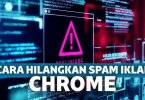 Cara menghilangkan iklan di Google Chrome di Android