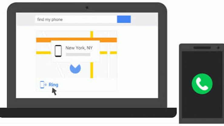 mencari HP hilang dengan Gmail