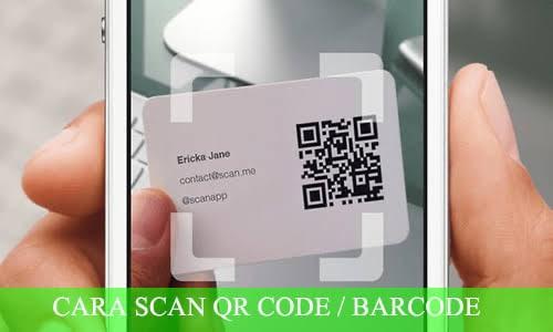 Berikut Tutorial Cara Scan Barcode Google Maps Arenaponsel Com