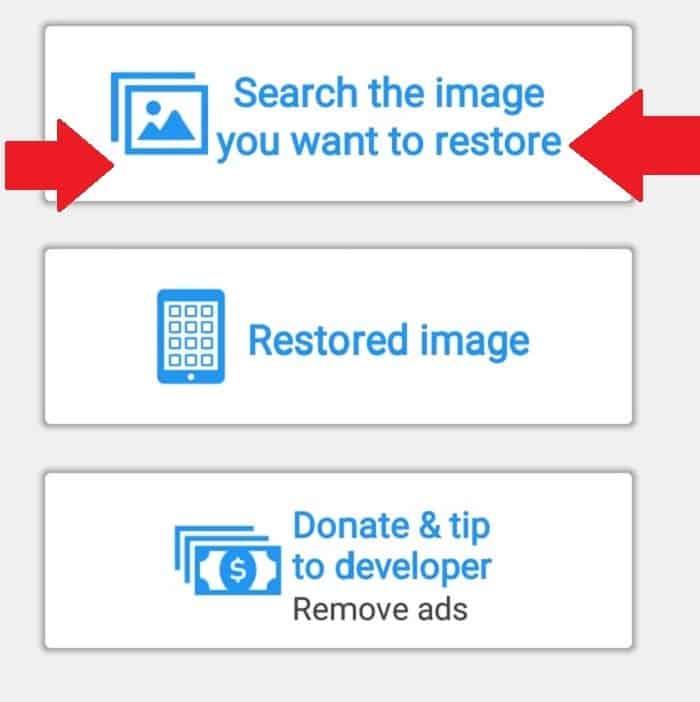 cara mengembalikan foto yang terhapus
