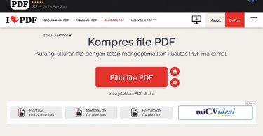 kompres file PDF menjadi kecil