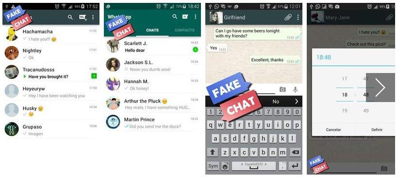 Whatsapp fake chat