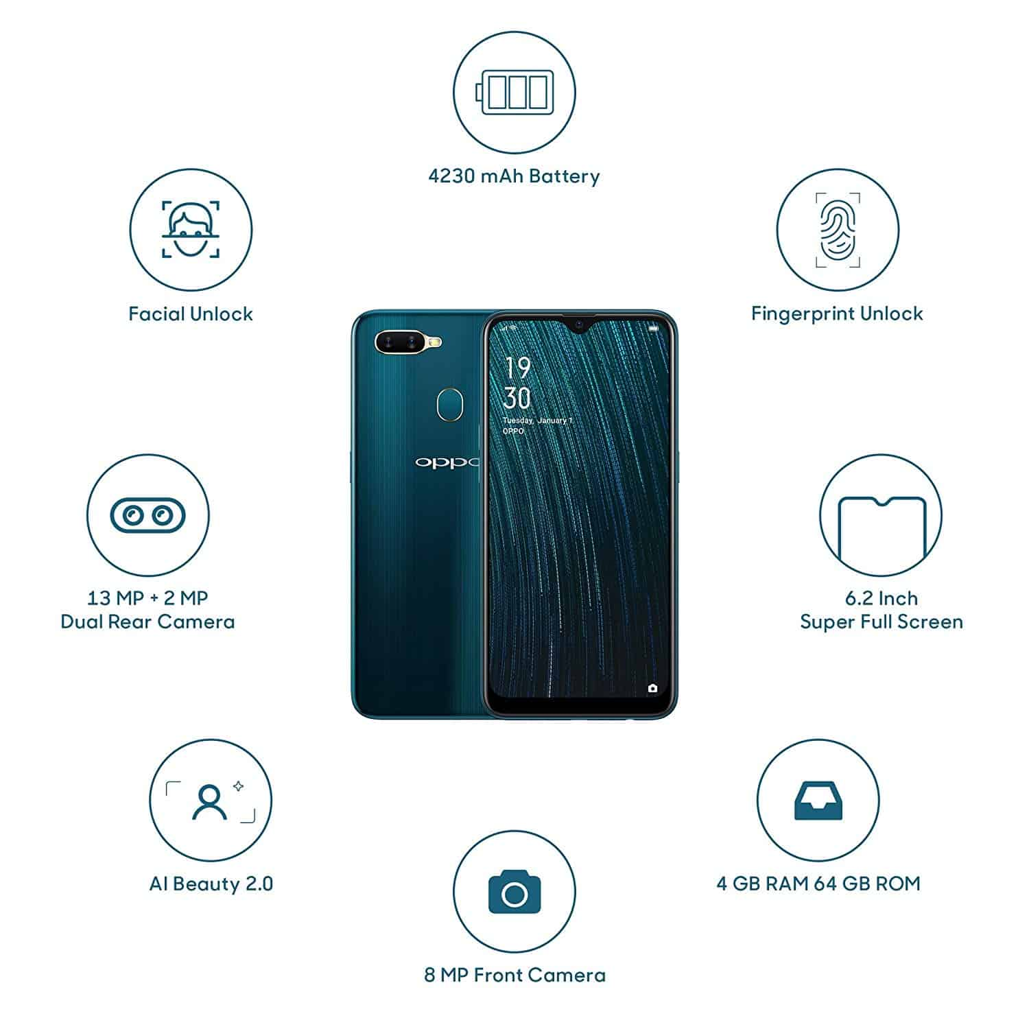 harga hp oppo a5s