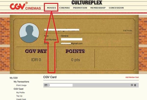 cara pesan tiket bioskop online