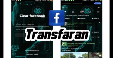 facebook Lite transparan