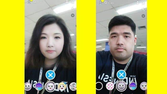 filter snapchat yang bagus
