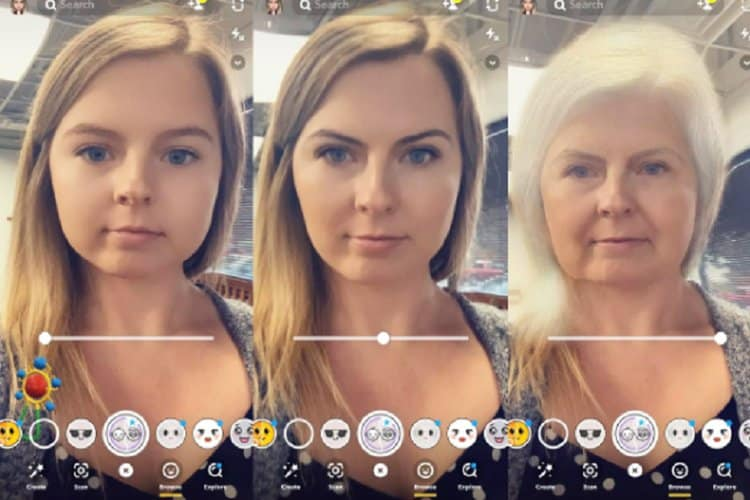 nama snapchat filter yang bagus