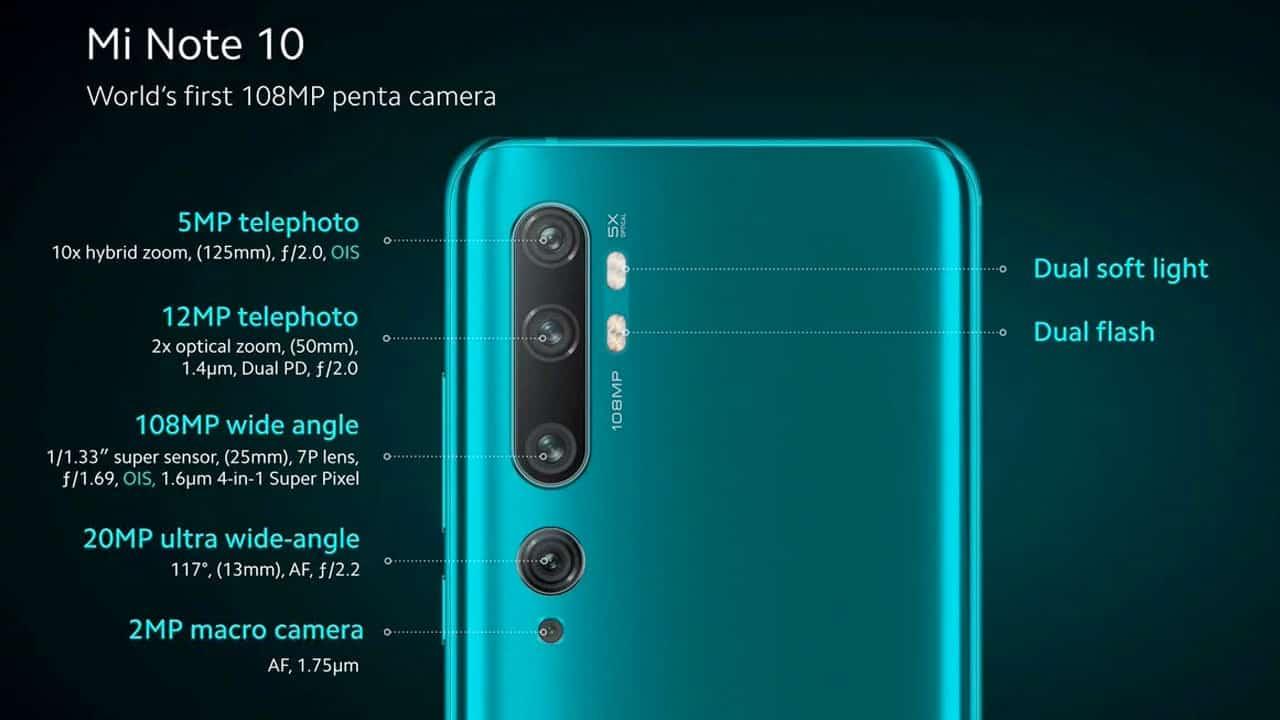 hp xiaomi ram 3 gb Xiaomi Mi Note 10