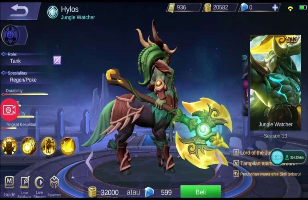 cara beli skin mobile legend ml