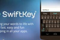 Aplikasi Tulisan keren Swiftkey keyboard