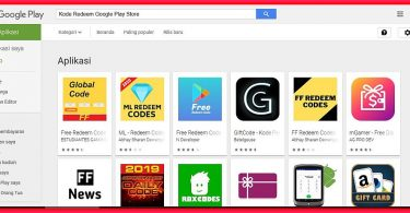kode redeem google play store gratis