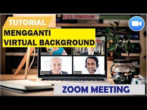 Cara Mengganti Background Zoom di Hp Android dan iPhone