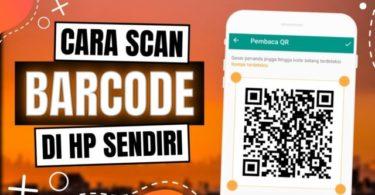 Cara Scan QR Code tanpa aplikasi di iphone dan android