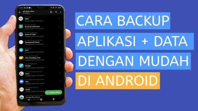 cara backup data hp android online dan offline tanpa root