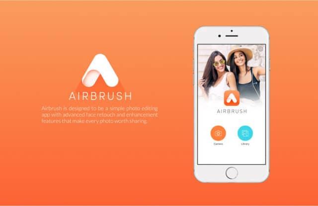 aplikasi kamera glowing cantik airbrush